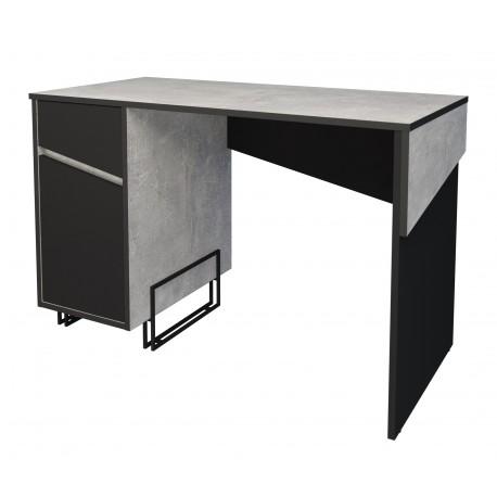 thumb Компьютерный стол Tech Индастриал/Черный левый 3