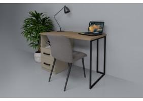 Компьютерный стол Vegas Дуб Ансберг Темный/Лате левый