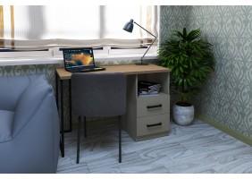 Компьютерный стол Vegas Дуб Ансберг Темный/Лате правый