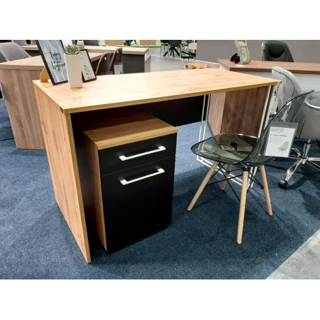 thumb Компьютерный стол Orion Black Дуб Тахо/Черный левый 3