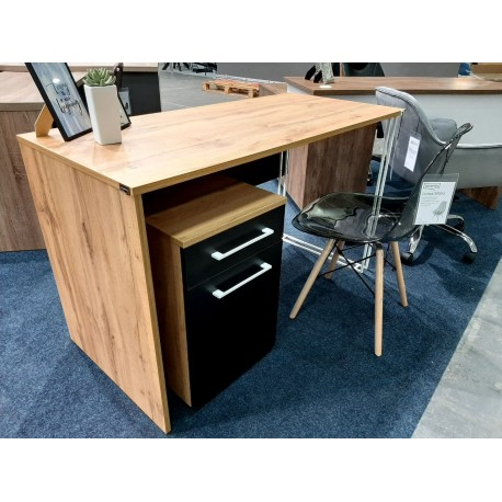 thumb Компьютерный стол Orion Black Дуб Тахо/Черный левый 4