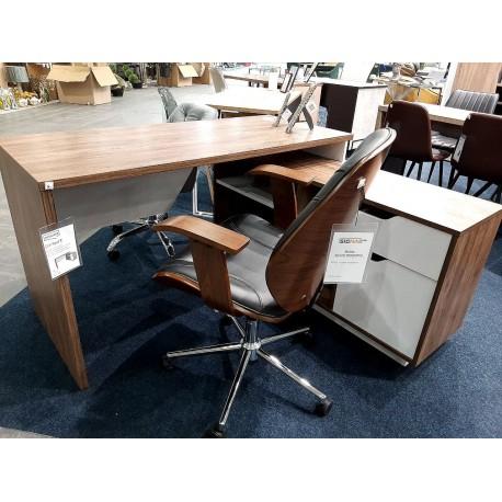 thumb Компьютерный стол Nord Дуб Ансберг Темный/Белая Аляска правый 4