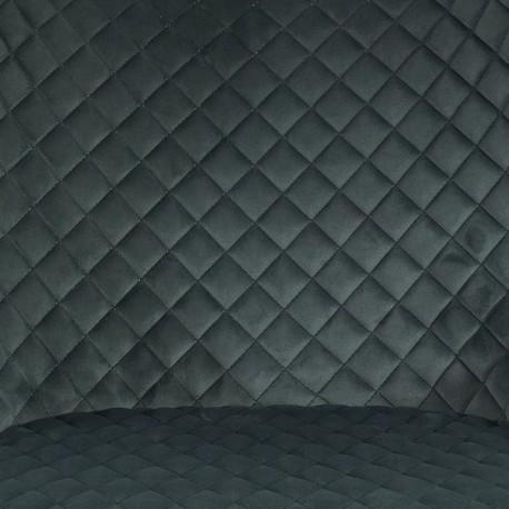 thumb Стул Colin B Velvet H-1 Серый/Черный 3