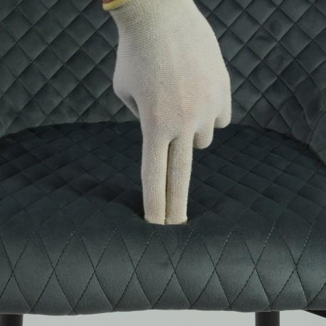 thumb Стул Colin B Velvet H-1 Серый/Черный 8