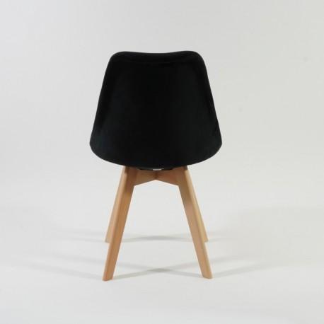 thumb Стул Dior Velvet Черный/Бук 3