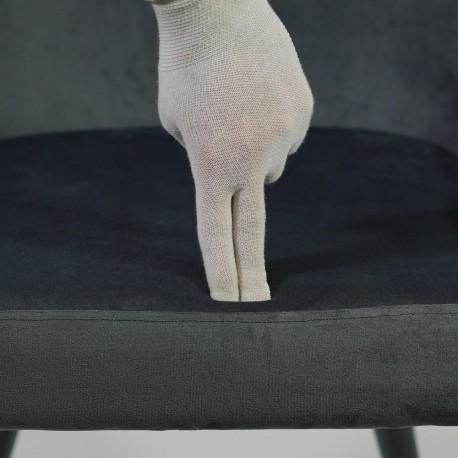 thumb Кресло Passo II Velvet Серый/Черный 6