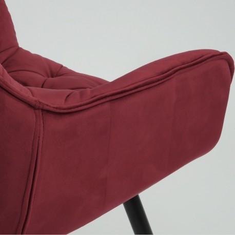 thumb Cтул Cherry Velvet Бордовый/Черный 6