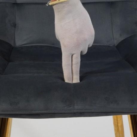 thumb Стул Chic Velvet Серый/Золотой 10