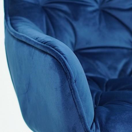 thumb Кресло Cherry Velvet Синий/Черный 8