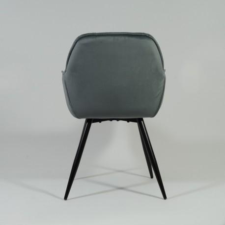 thumb Кресло Cherry Velvet Серый/Черный 8