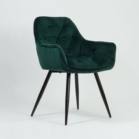 thumb Кресло Cherry Velvet Зеленый/Черный 7