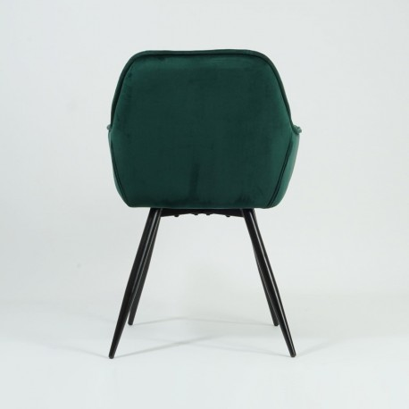 thumb Кресло Cherry Velvet Зеленый/Черный 5