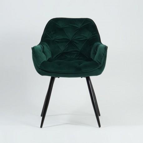 thumb Кресло Cherry Velvet Зеленый/Черный 2