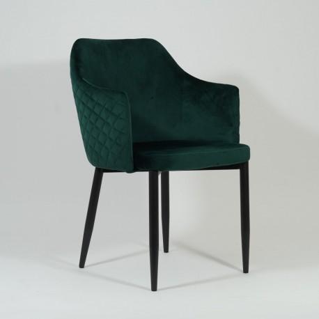 thumb Стул Astor Velvet Зеленый/Черный 5