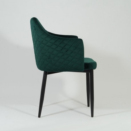 thumb Стул Astor Velvet Зеленый/Черный 4