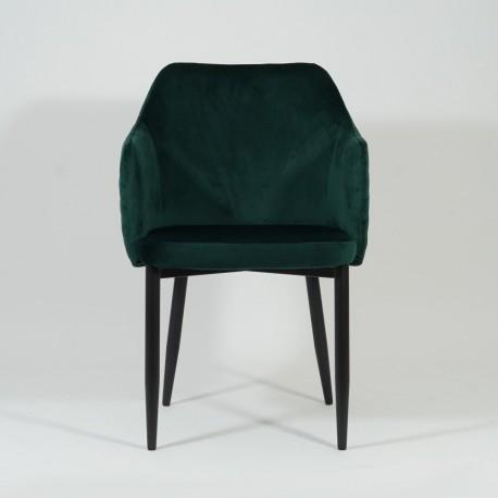 thumb Стул Astor Velvet Зеленый/Черный 2