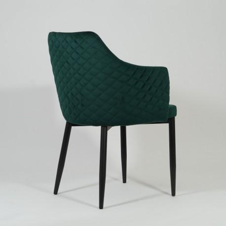 thumb Стул Astor Velvet Зеленый/Черный 3