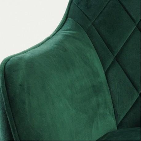 thumb Кресло Linea Velvet Зеленый/Черный 3