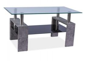 Журнальный стол Lisa II Серый камень 110X60X55