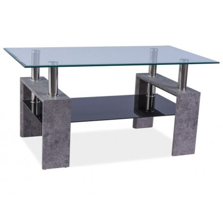 thumb Журнальный стол Lisa II Серый камень 110X60X55 1