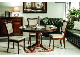 Стол обеденный Margo 90(125)x90 см Темный орех