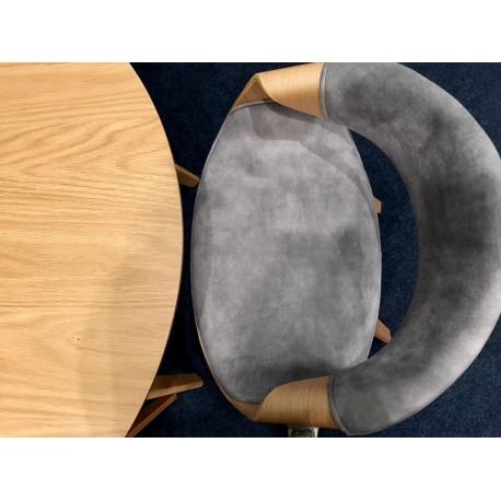 thumb Стол обеденный Mosso II 75х100х100 Дубовый шпон 3