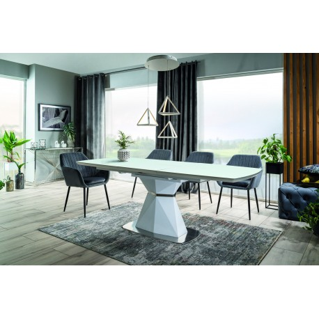 thumb Стол обеденный Cortez 160(210)x90 см Белый (CORTEZB160) 1