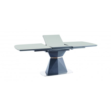 thumb Стол обеденный Cortez 160(210)x90 см Серый / Антрацит (CORTEZAT160) 3