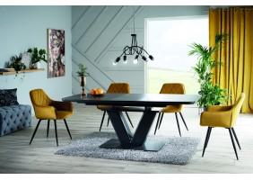 Стол обеденный Montblanc 160(200)x90 см Серый (MONTBLANCSZ160)
