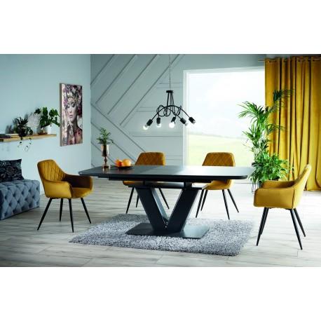 thumb Стол обеденный Montblanc 160(200)x90 см Серый (MONTBLANCSZ160) 1