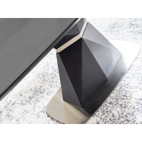 thumb Стол обеденный Cortez 160(210)x90 см Серый / Антрацит (CORTEZAT160) 2