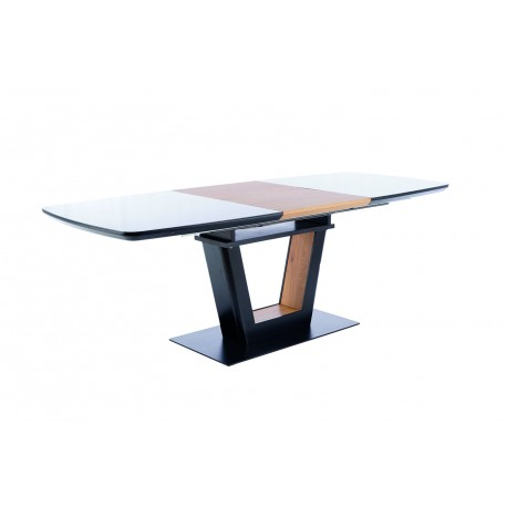 thumb Стол обеденный Sydney 160(220)x90 см Черный / Дуб (SYDNEYCD160) 10