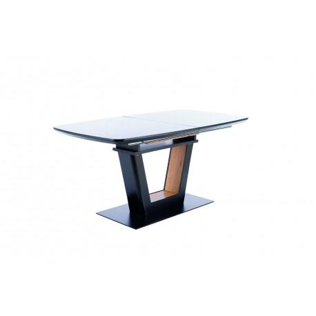 thumb Стол обеденный Sydney 160(220)x90 см Черный / Дуб (SYDNEYCD160) 12