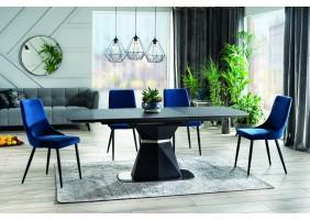 Стол обеденный Cortez 160(210)x90 см Серый / Антрацит (CORTEZAT160)