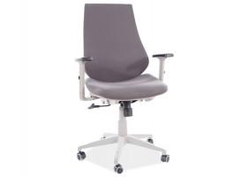 Кресло поворотное Q-361 серый / серый каркас