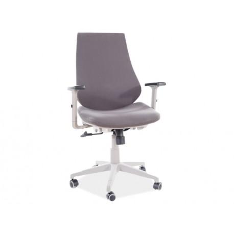 thumb Кресло поворотное Q-361 серый / серый каркас 1