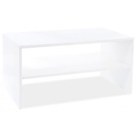 thumb Журнальный столик SIMPLE белый мат 90X50X45 1