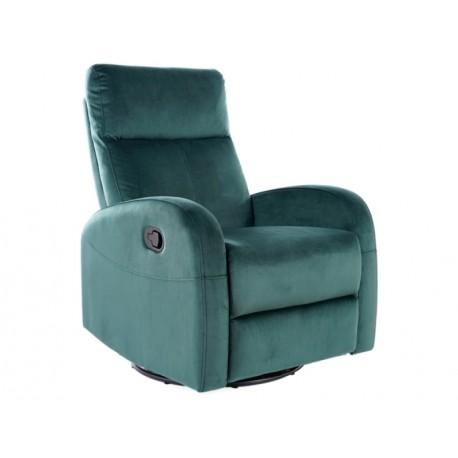 thumb Кресло раскладное OLIMP VELVET зеленый BLUVEL 78 1