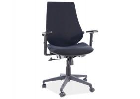 Кресло поворотное Q-361 черный / черный каркас