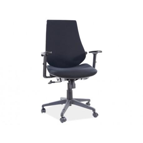 thumb Кресло поворотное Q-361 черный / черный каркас 1