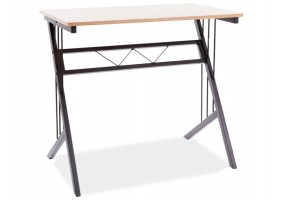 Компьютерный стол B-120 цвет дуб / темно-коричневый