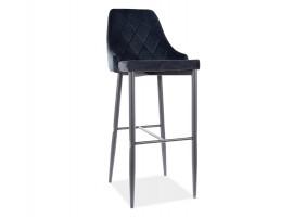 Барный стул TRIX B H-1 черный каркас / черный Черный