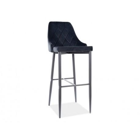 thumb Барный стул TRIX B H-1 черный каркас / черный Черный 1