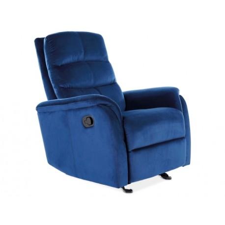 thumb Кресло раскладное JOWISZ VELVET синий BLUVEL 86 1