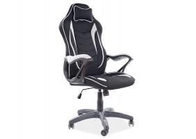 Кресло поворотное ZENVO черный / серый