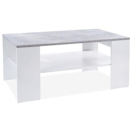 thumb Журнальный столик SIONA бетон / белый мат 110X65X50 1
