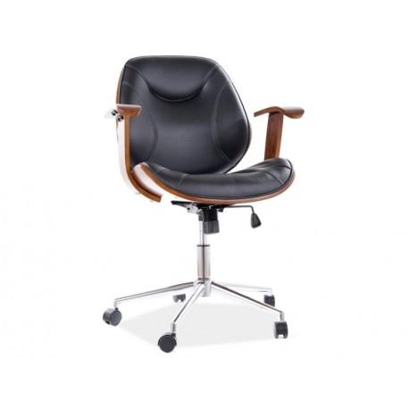 thumb Кресло поворотное RODEO черная Экокожа 1