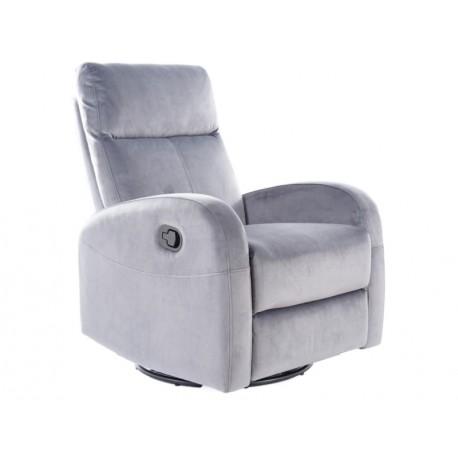 thumb Кресло раскладное OLIMP VELVET серый BLUVEL 14 1