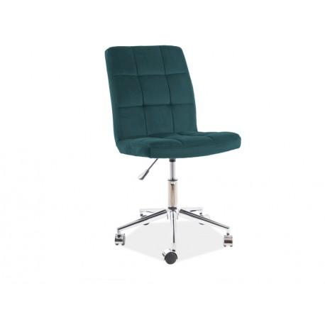 thumb Кресло поворотное Q-020 VELVET зеленый BLUVEL 78 1
