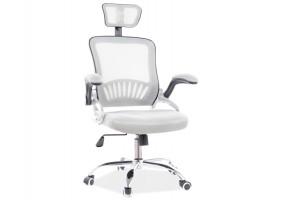 Кресло поворотное Q-831 серый